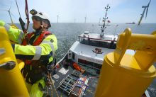 Deutsche Windtechnik AG will be in charge of the technical management for the offshore wind farm Yunlin and will also carry out maintenance tasks above and below water. (Picture: Deutsche Windtechik)