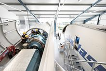 The Training Center ensures the  multi-brand service quality of Deutsche Windtechnik in the long term. (Picture: Deutsche Windtechnik)