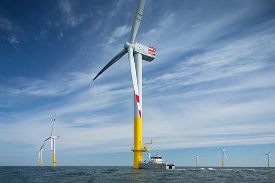 Full Service for offshore WTG by Deutsche Windtechnik